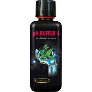 pH Buffer 4 Calibration - 300 ml Bottle-Semi-Hydro-Hydroponic products-3.99