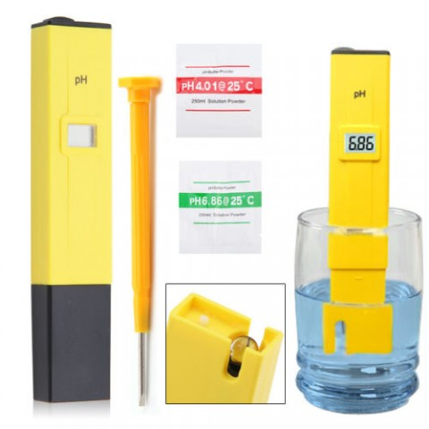 Digital pH Meter/Tester 0-14 Pocket Pen