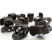 Orchid Clips (size M, brown) x10-Hangers & Supports-1.20