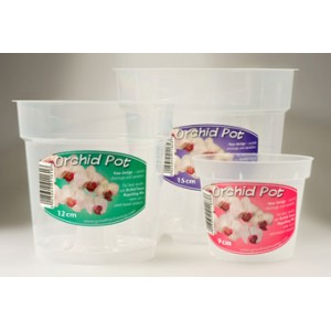 15 cm Clear Air Cone Pots GTech 5 PACK-Orchid Pots & Containers-5.50