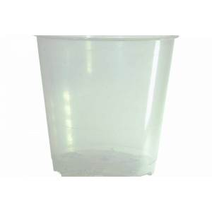 6 cm Clear x5-Orchid Pots & Containers-1.00
