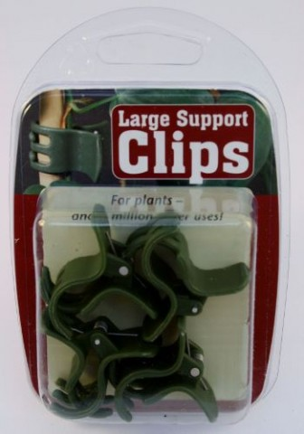 Large Green Support Clips