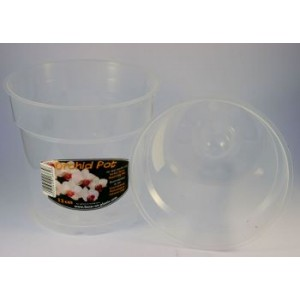 13 cm Clear Air cone Pot GTech - 5 Per Pack-Orchid Pots & Containers-5.00