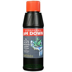 pH down control solution 250 ml-Semi-Hydro-Hydroponic products-4.50